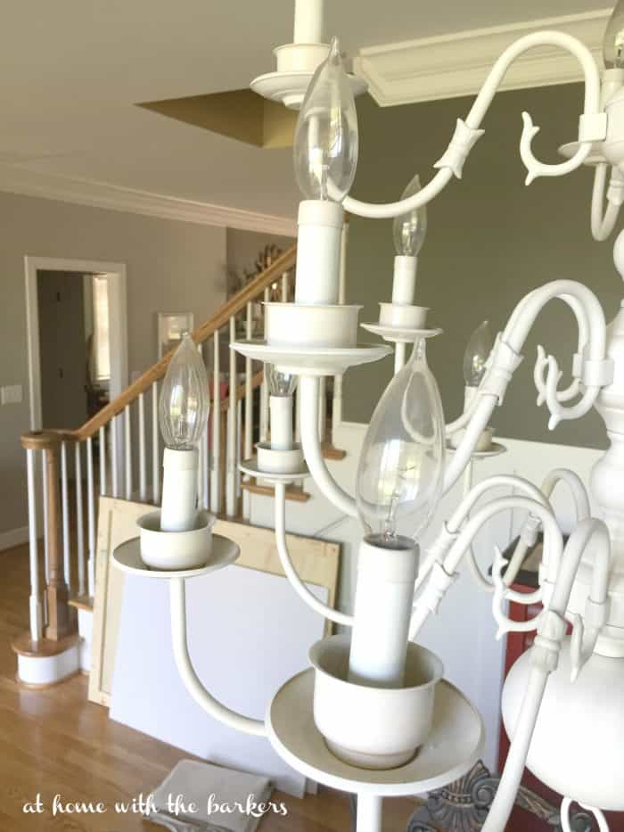 Chandelier light bulb quick tip friday