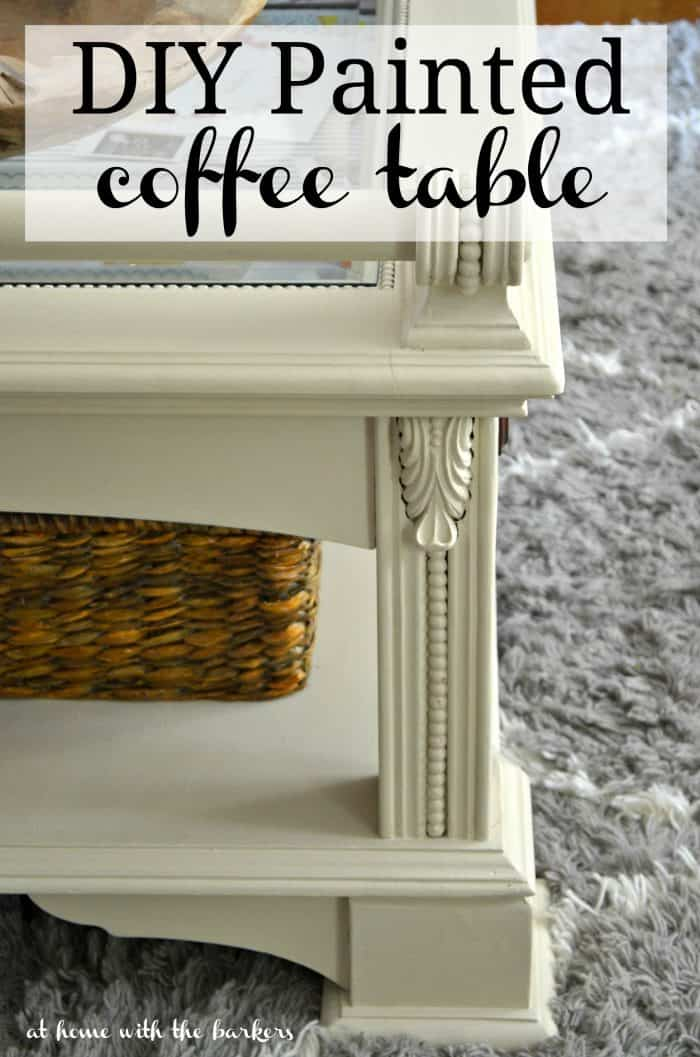DIY Painted Coffee Table with Annie Sloan Chalk Paint