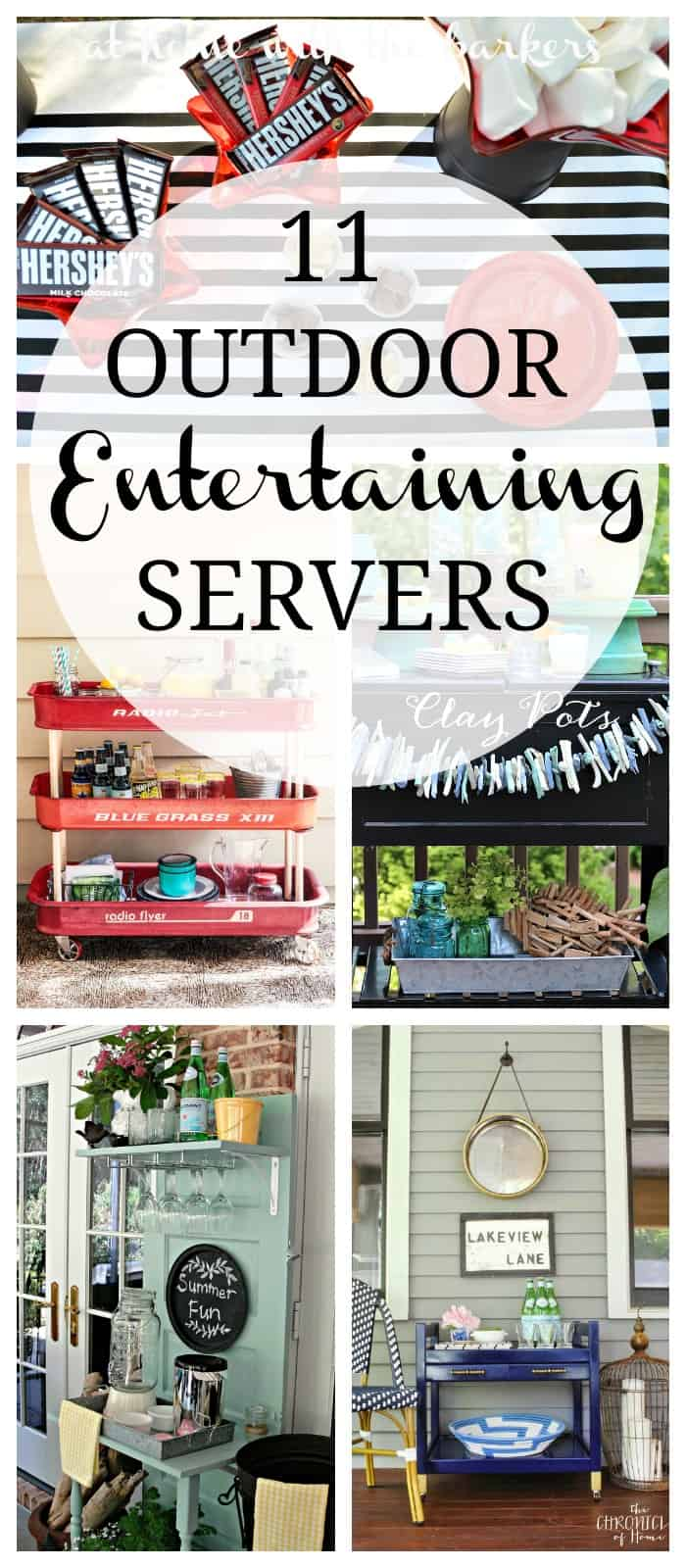 11 Outdoor Entertaining Servers