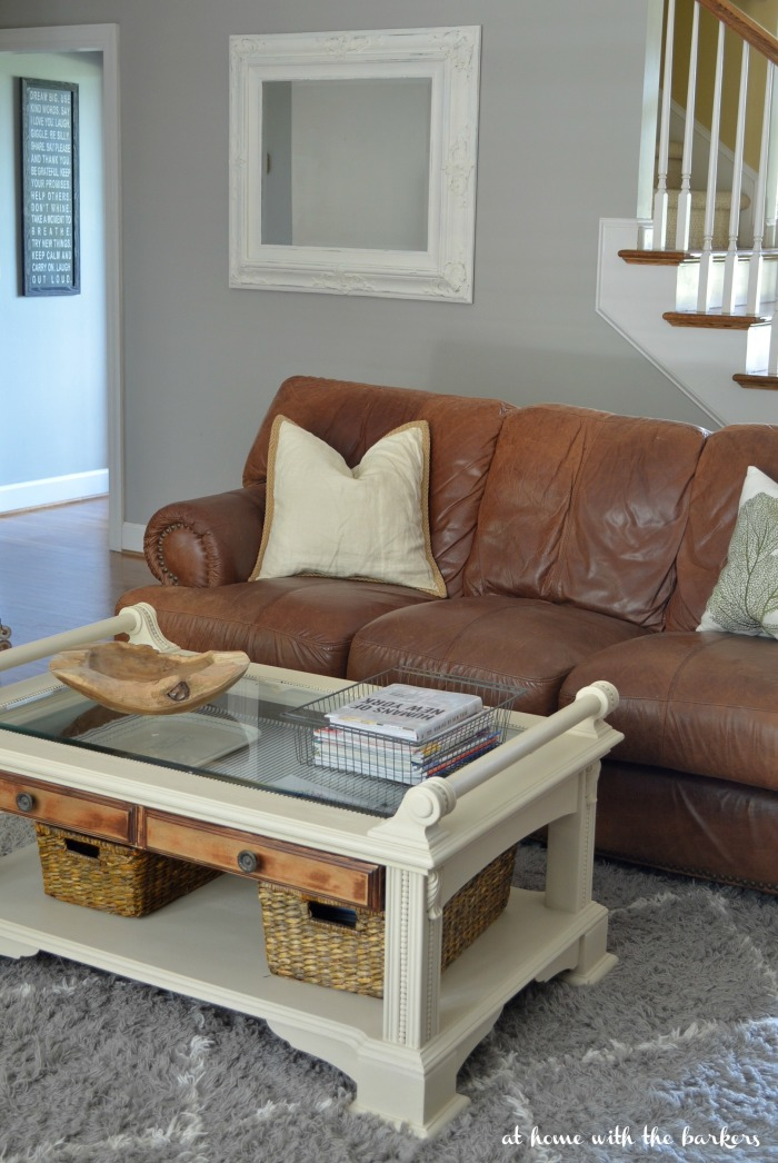Painted Coffee Table Old Ochre from Annie Sloan Chalk Paint