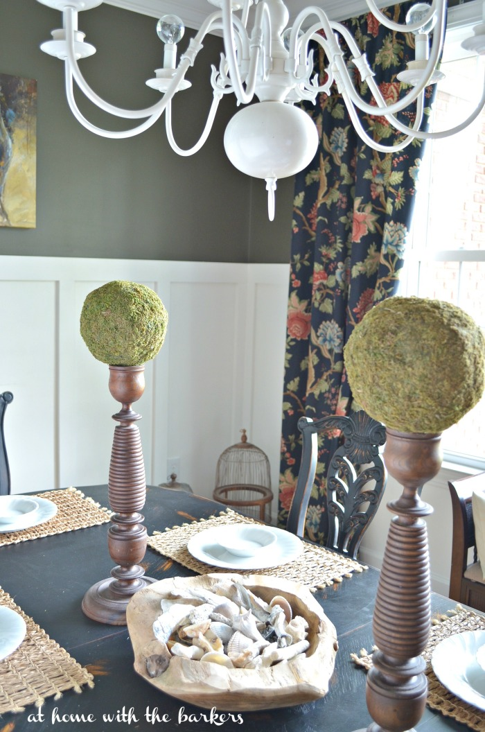 Summer Decor in the Dining Room