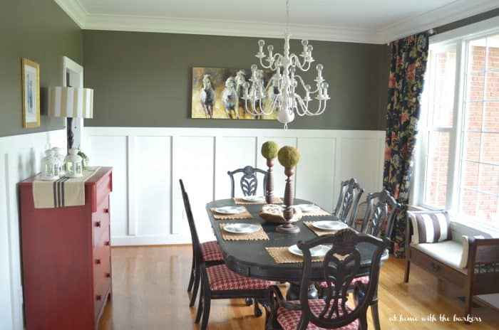 Urban Farmhouse Decor for Summer Dining Room
