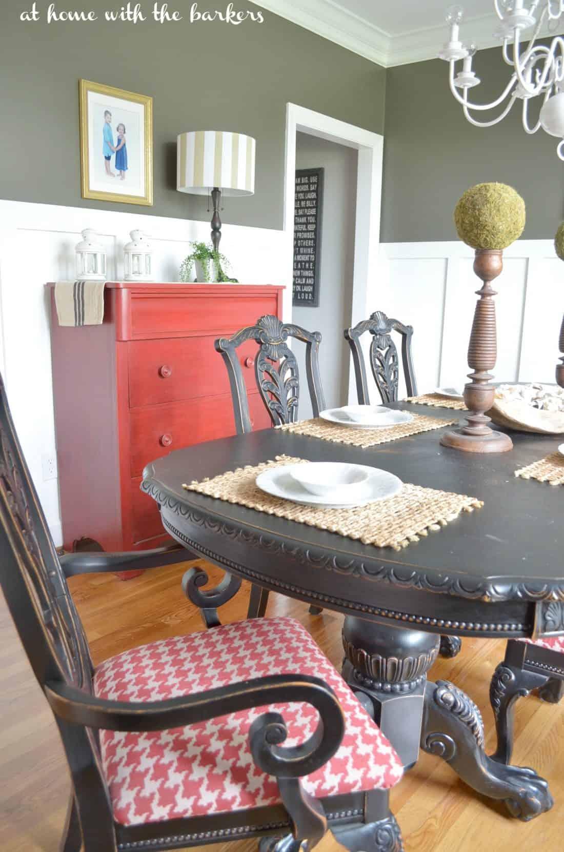 Room Decor: Dining Room Summer Decor