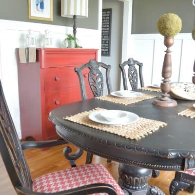 Urban Farmhouse Dining Room Style