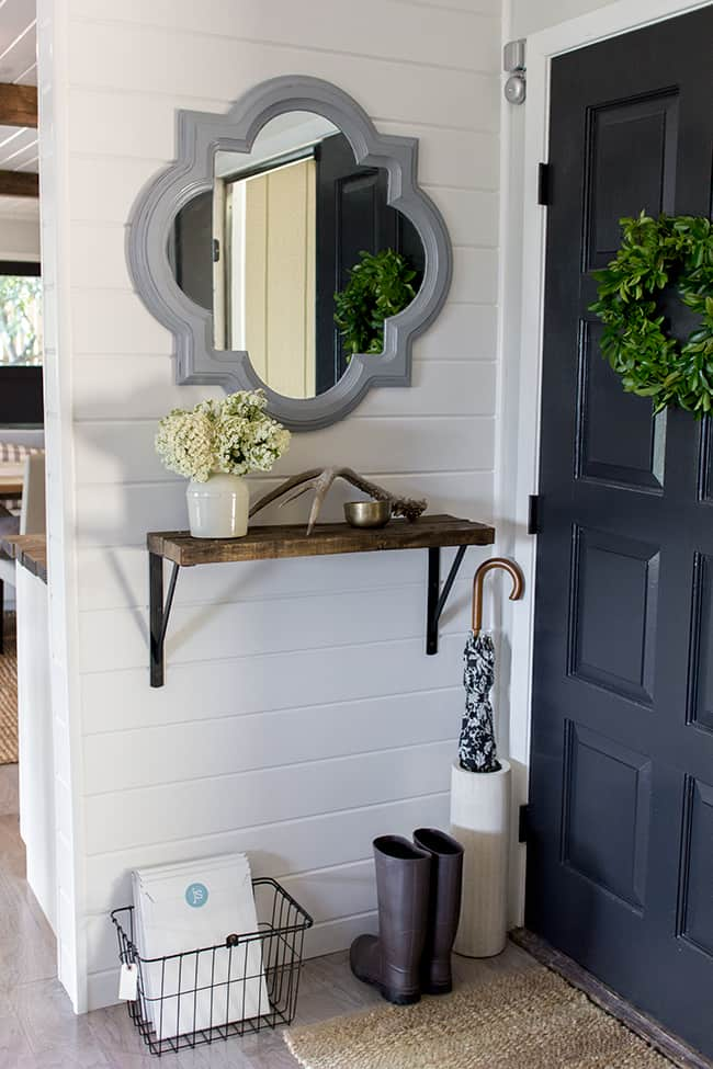 Decorating with Wood Planks -Jenna Sue Design Co.