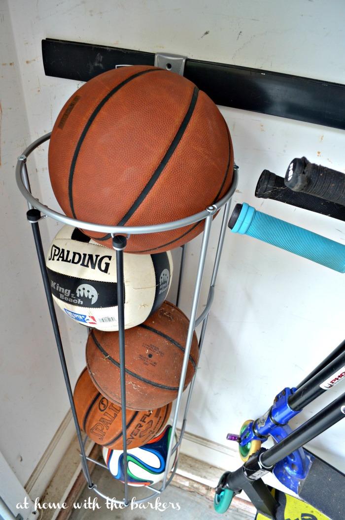 Ball Organization for Garage