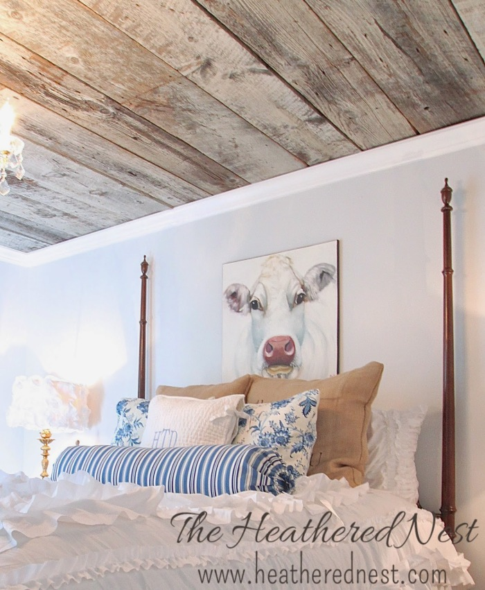 Decorating with Wood Planks- Heathered Nest
