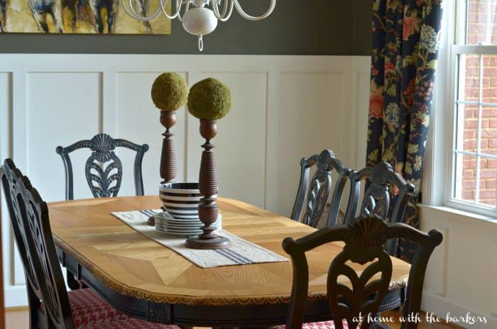 Dining Room Table Makeover- Stripping Paint