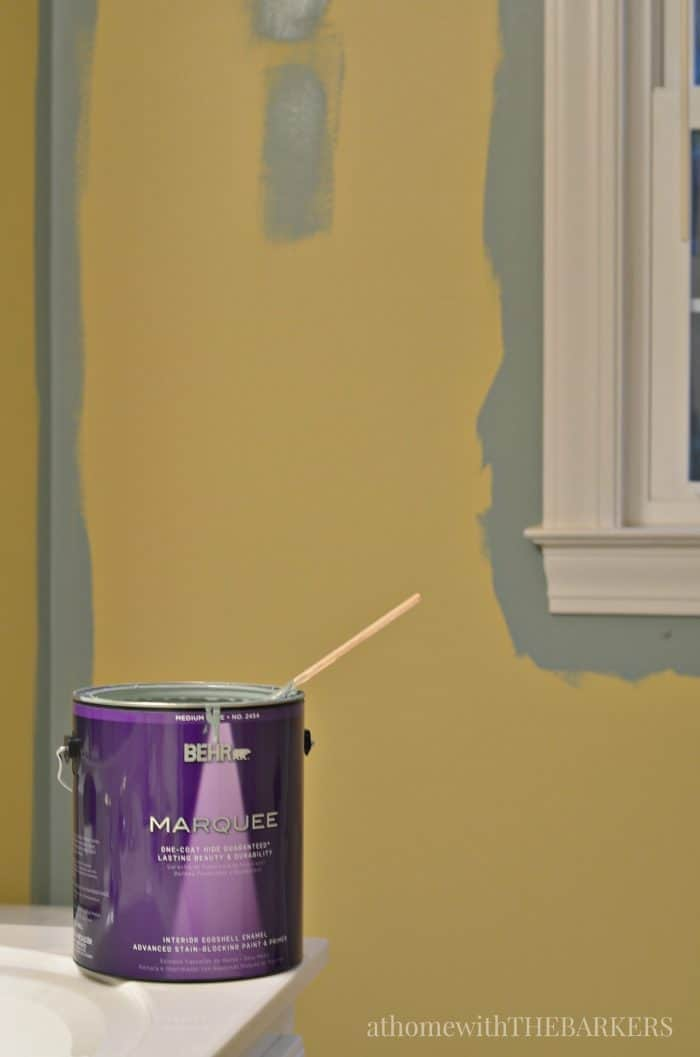BEHR Marquee for one coat coverage / athomewiththebarkers.com