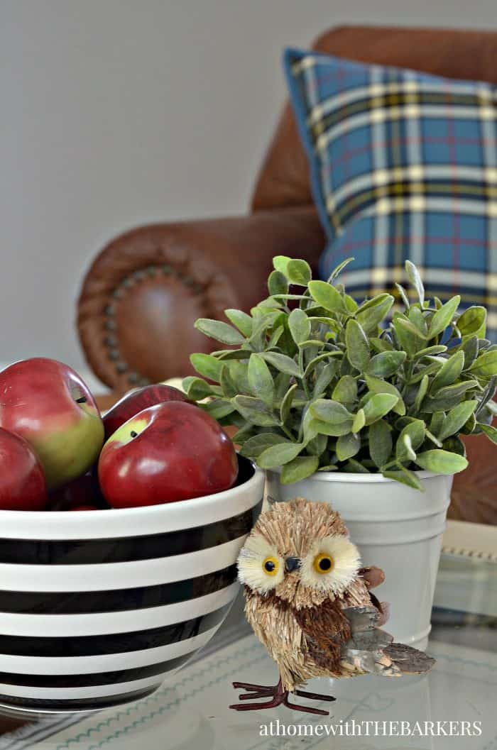 Fall Decorating with simple touches