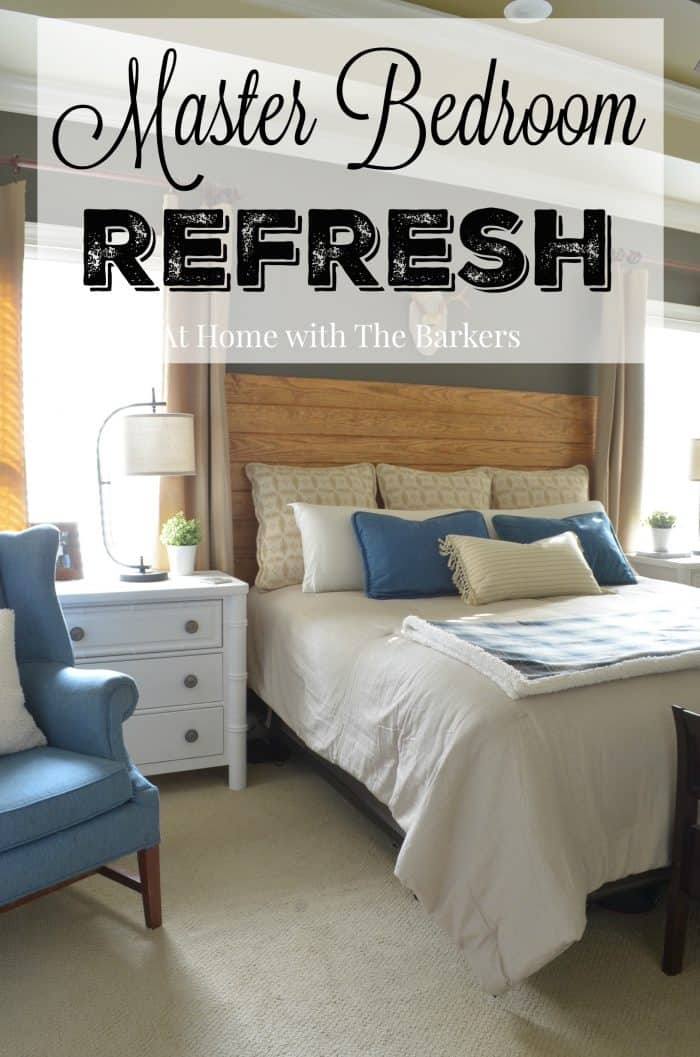 Neutral Master Bedroom Refresh - athomewiththebarkers.com