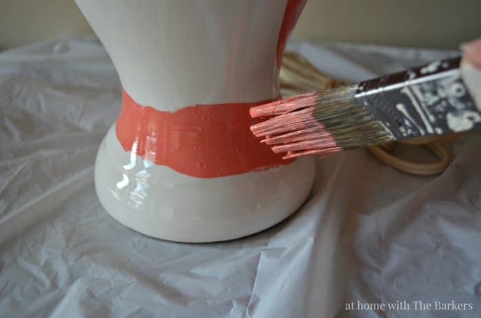 DIY Brushstroke Lamp Tips - athomewiththebarkers.com