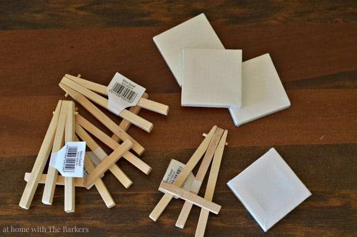 Mini Easel Buffet Table Signs - athomewiththebarkers.com