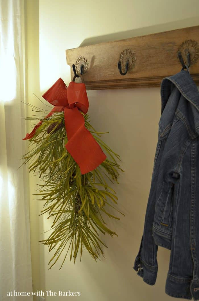 Christmas Decor with Swag Garland