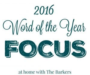Focus 2016 Word of the Year