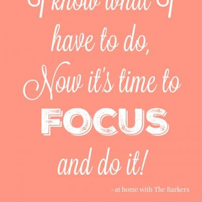 Focus Quote - Word of the Year