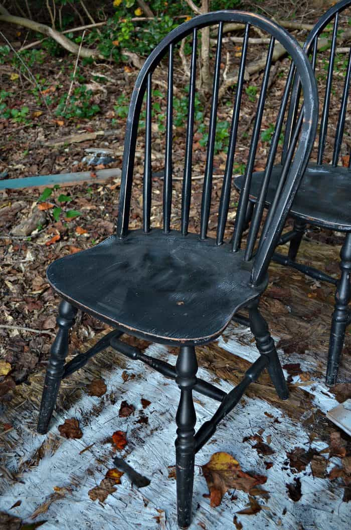 Before Painting Chairs