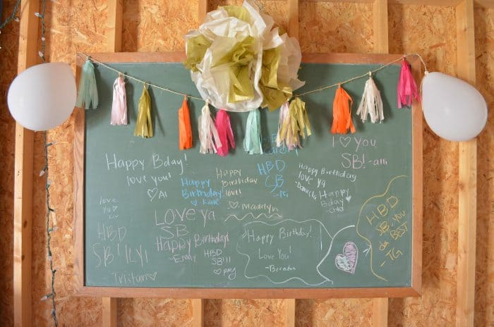 Budget Friendly Birthday Party DIY Tassel Garland