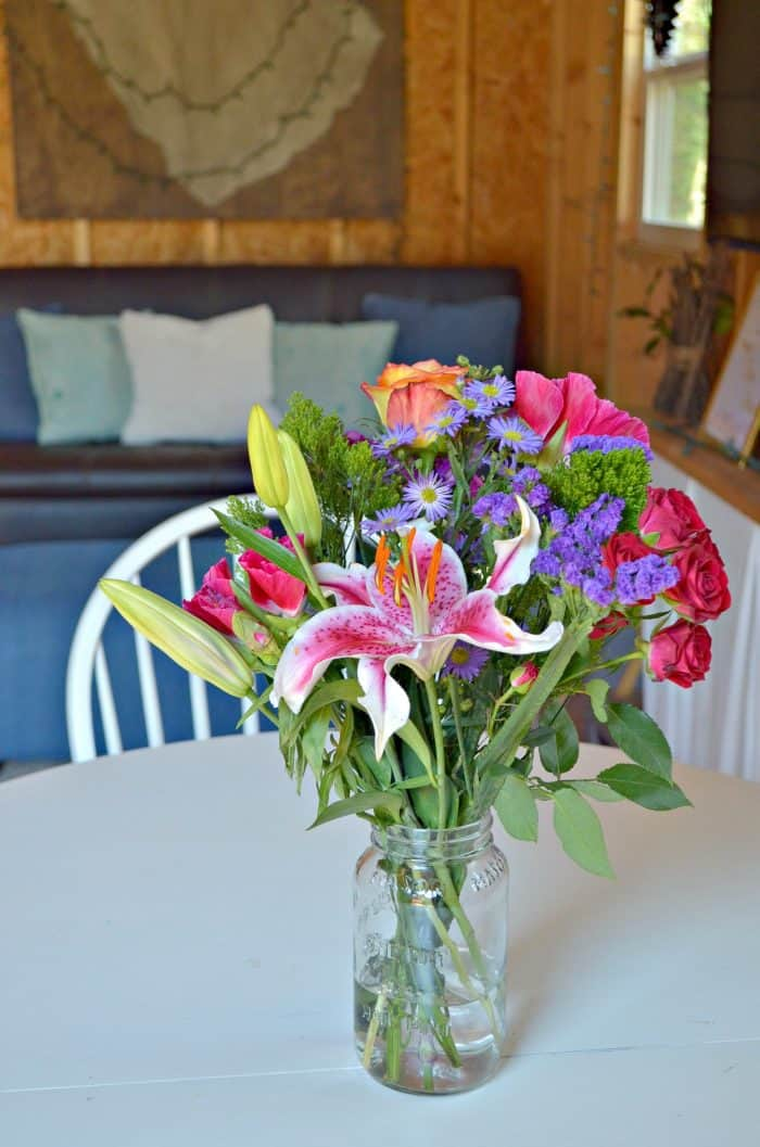 Fresh Flowers for budget friendly birthday party ideas