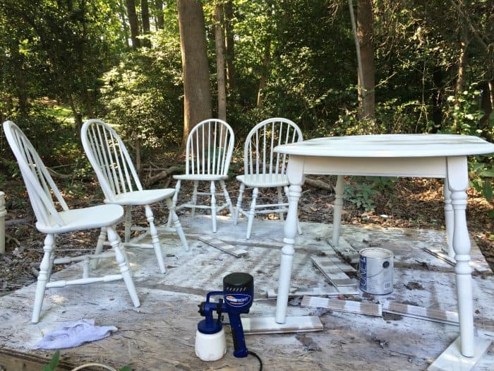 HomeRight Paint Sprayer for Table and Chairs