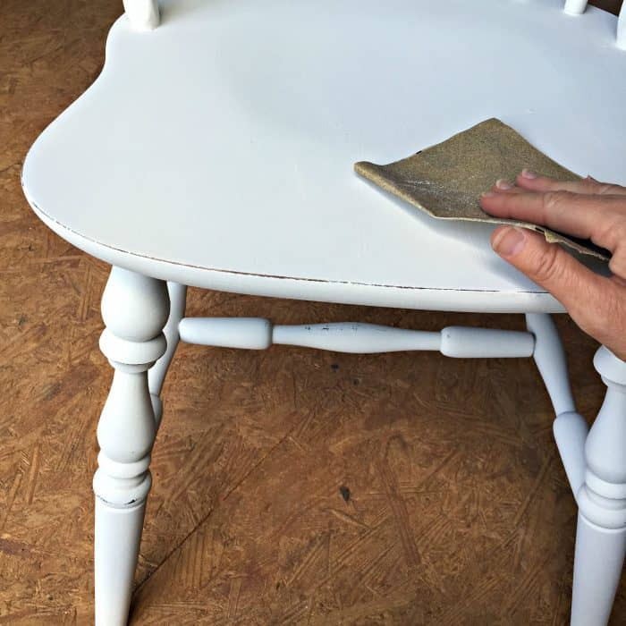 How to paint a dining set and distress
