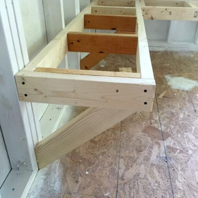 One Room Challenge Bench Building