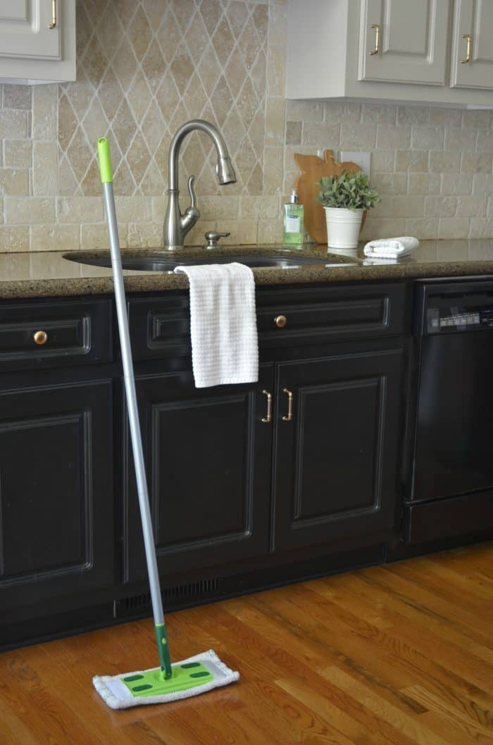 Home Cleaning Routine Mopping