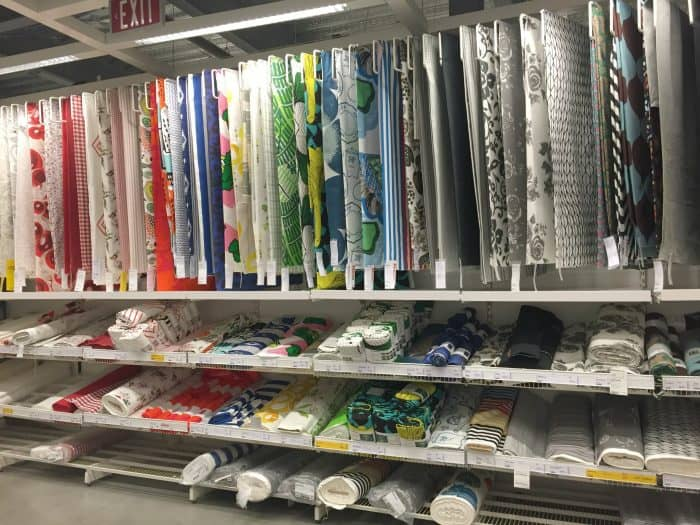 Ikea Fabric selections for ORC