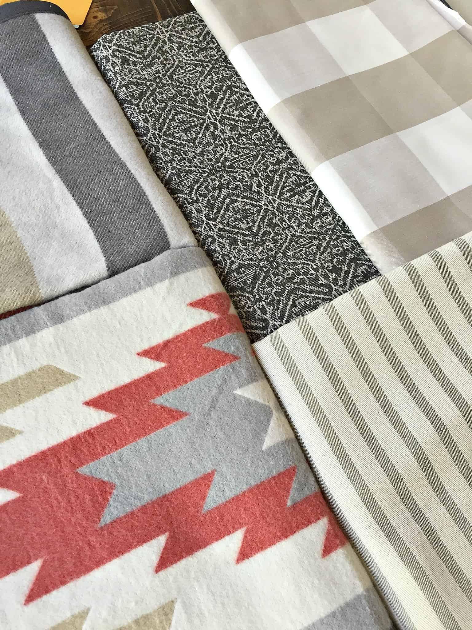 One Room Challenge Fabric