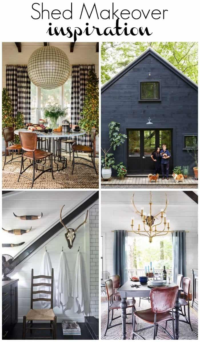 One Room Challenge Shed inspiration Spring 2016 / athomewiththebarkers.com