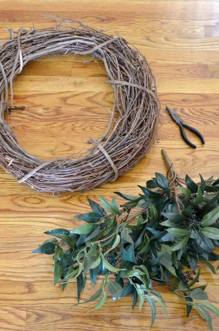 Farmhouse Wreath Supplies
