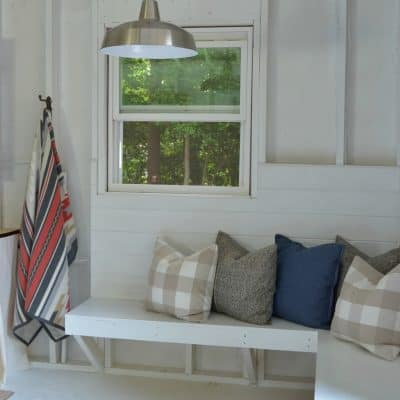 One Room Challenge Shed Makeover Reveal