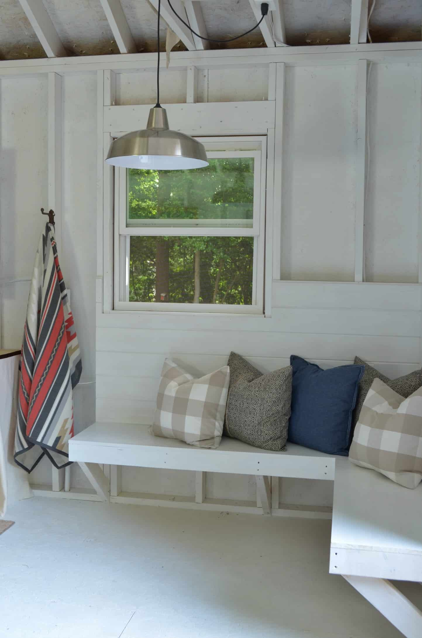 e Room Challenge Shed Makeover Reveal At Home with The Barkers