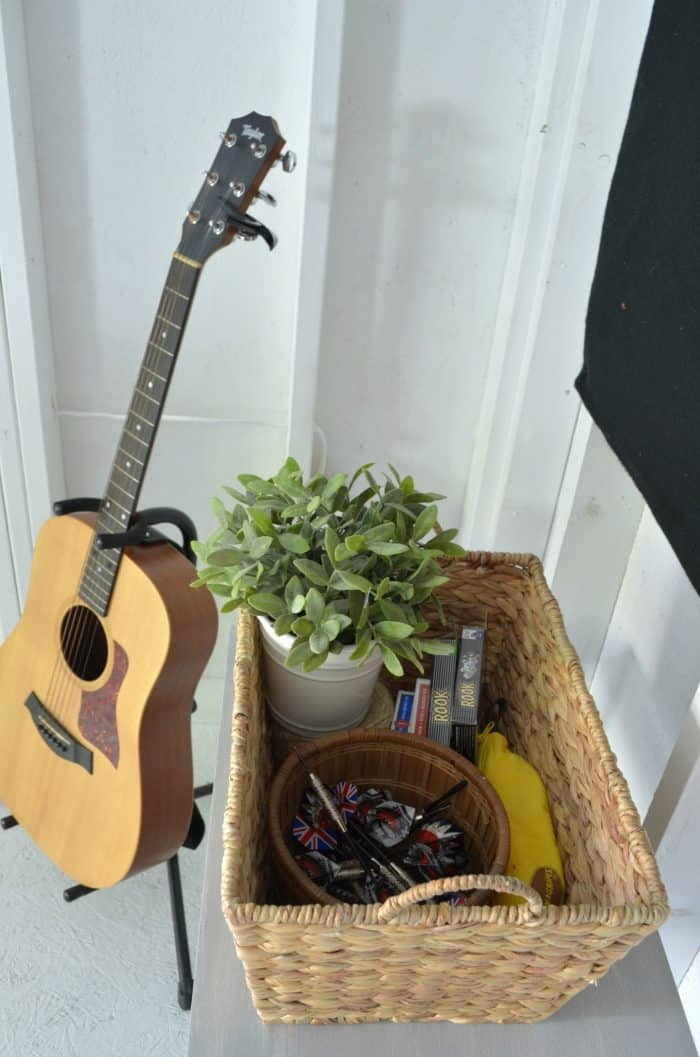 Shed Makeover - Music and Games