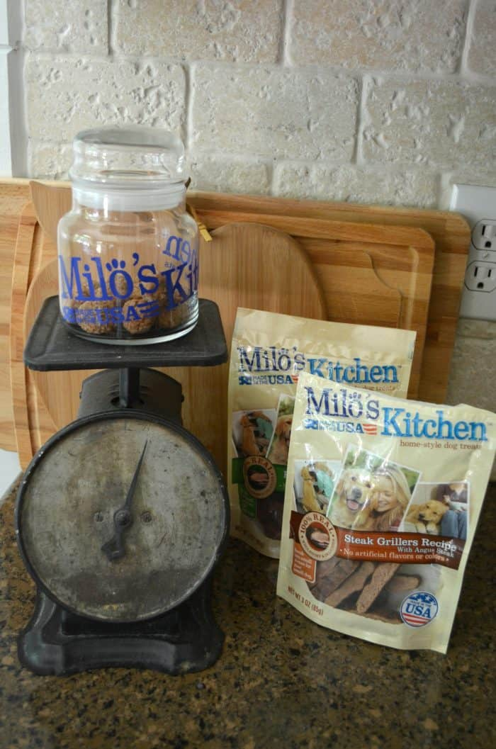 Milo's Kitchen homestyle dog treats
