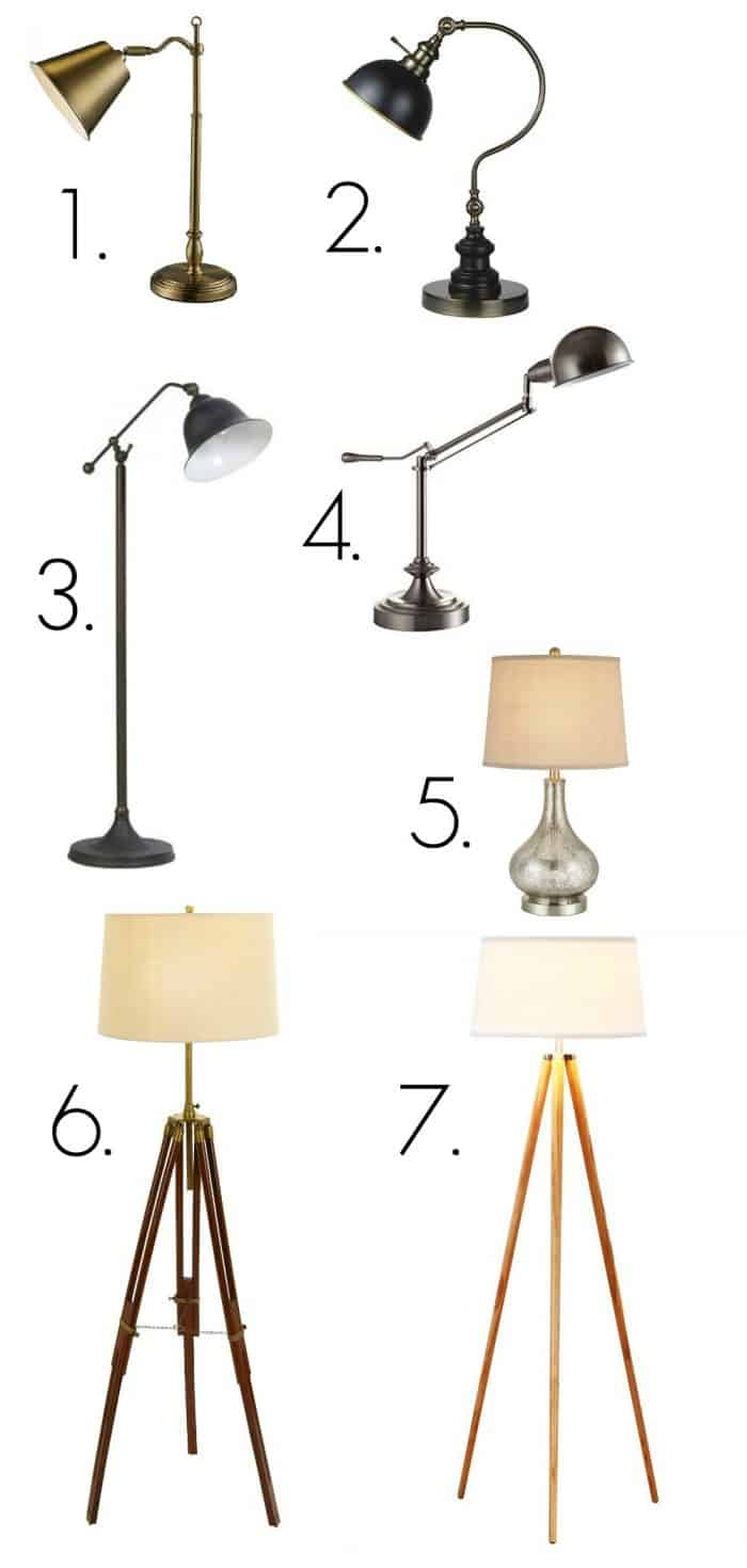 Budget Friendly lamps inspired by Fixer Upper