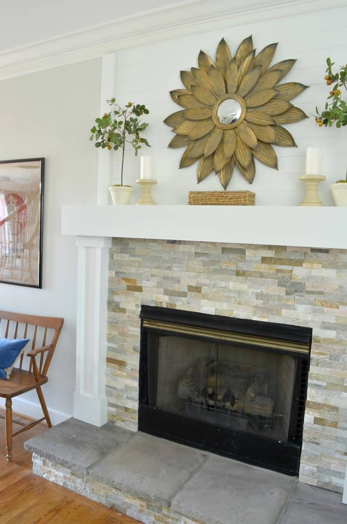 Complete Fireplace And Mantel Makeover