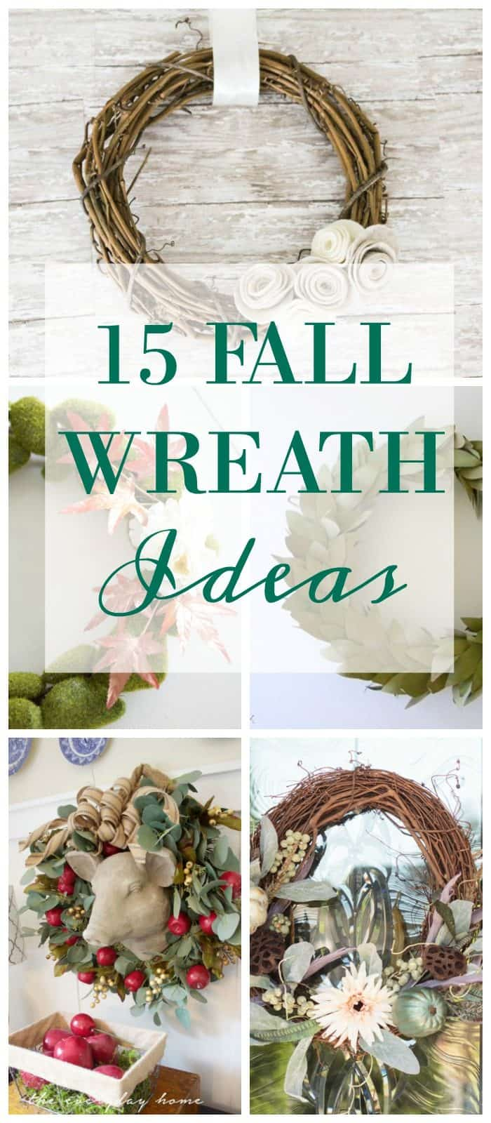 15 Fall Wreath Ideas