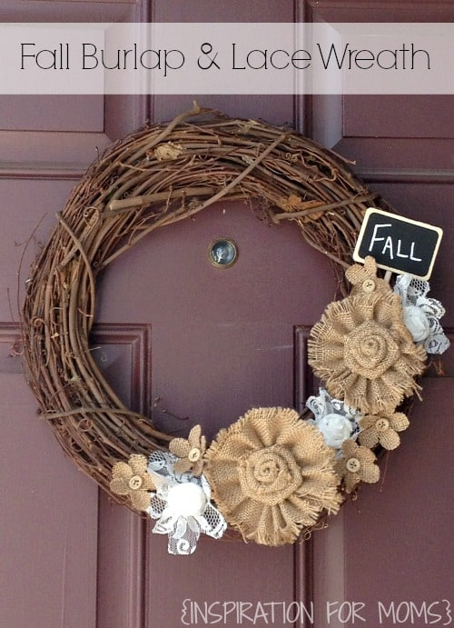 Fall+Burlap+and+Lace+Wreath