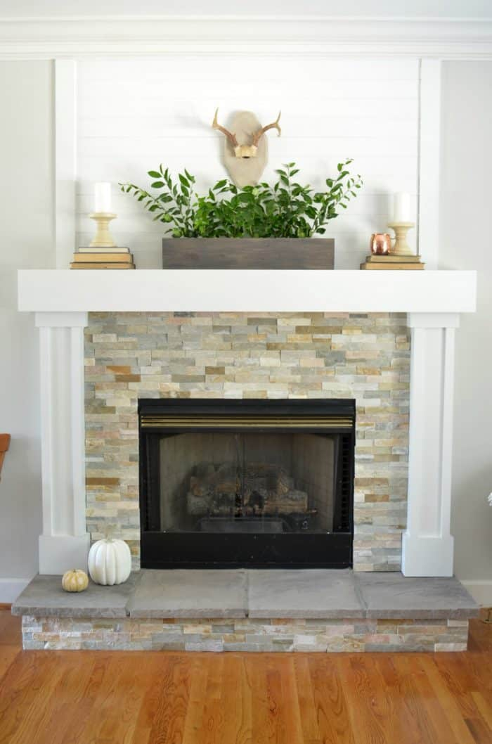 Simple Fall Mantel Styling At Home With The Barkers