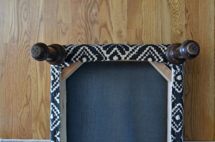 One Room Challenge Ottoman Project