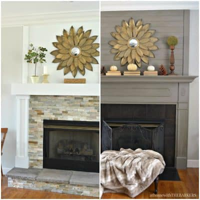 One Room Challenge Family Room Week Two Mantel decisions