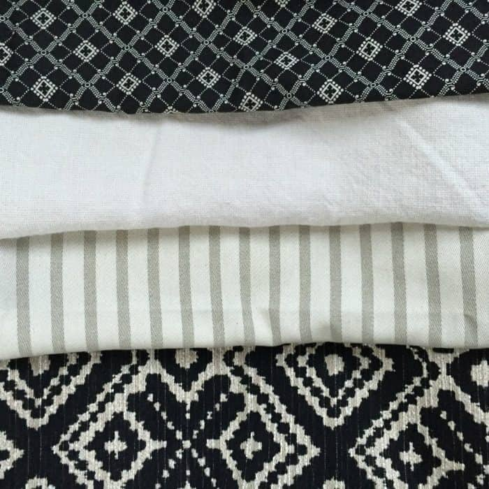 One Room Challenge Fabric choices