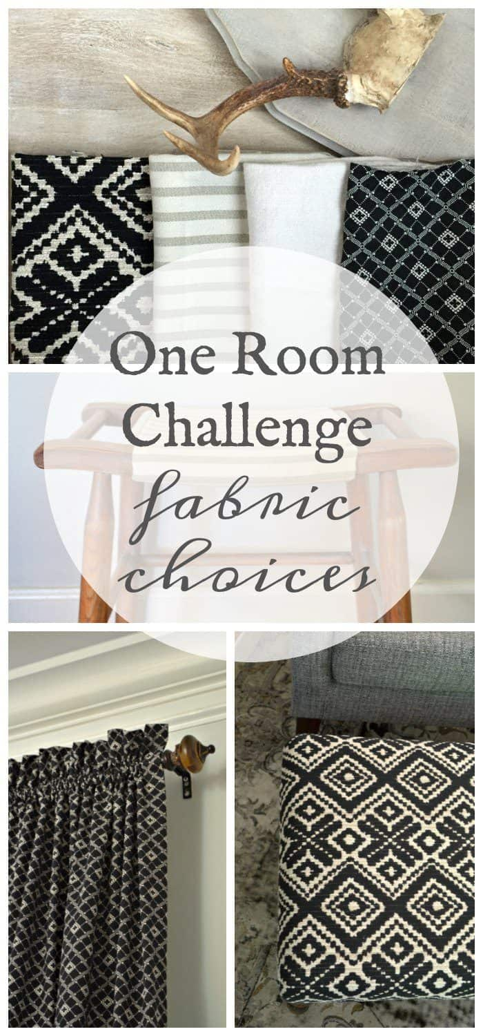 One Room Challenge Family Room Ottoman Makeover