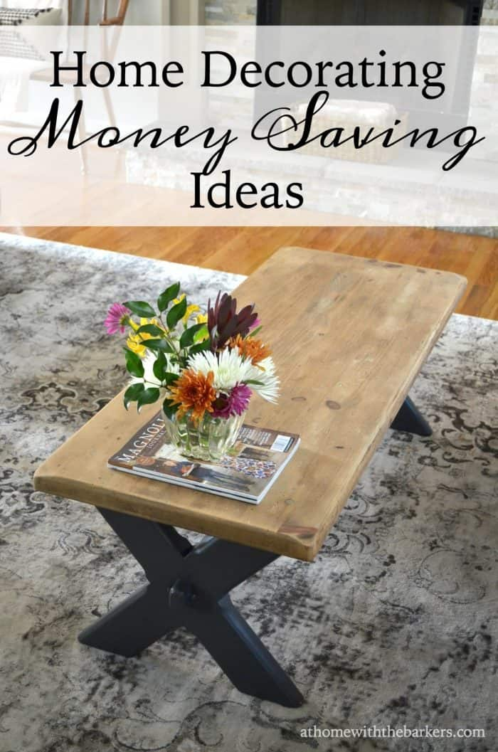 Home decorating top money saving secrets at home with - How to decorate a house with no money ...