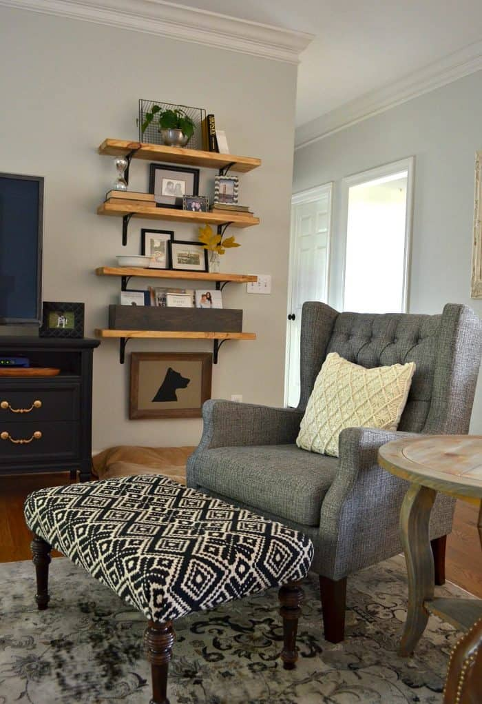 One Room Challenge Affordable Family Room Makeover