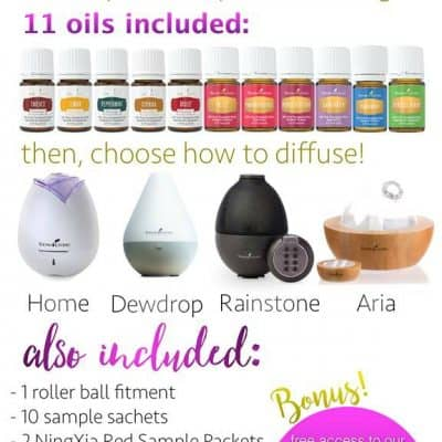 Young Living Premium Started Kit full of powerful essential oils that will change your life.