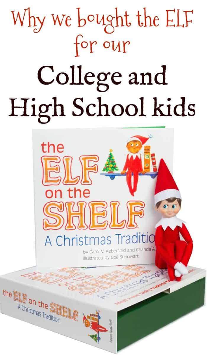 Elf on the Shelf for College and High Schoolers