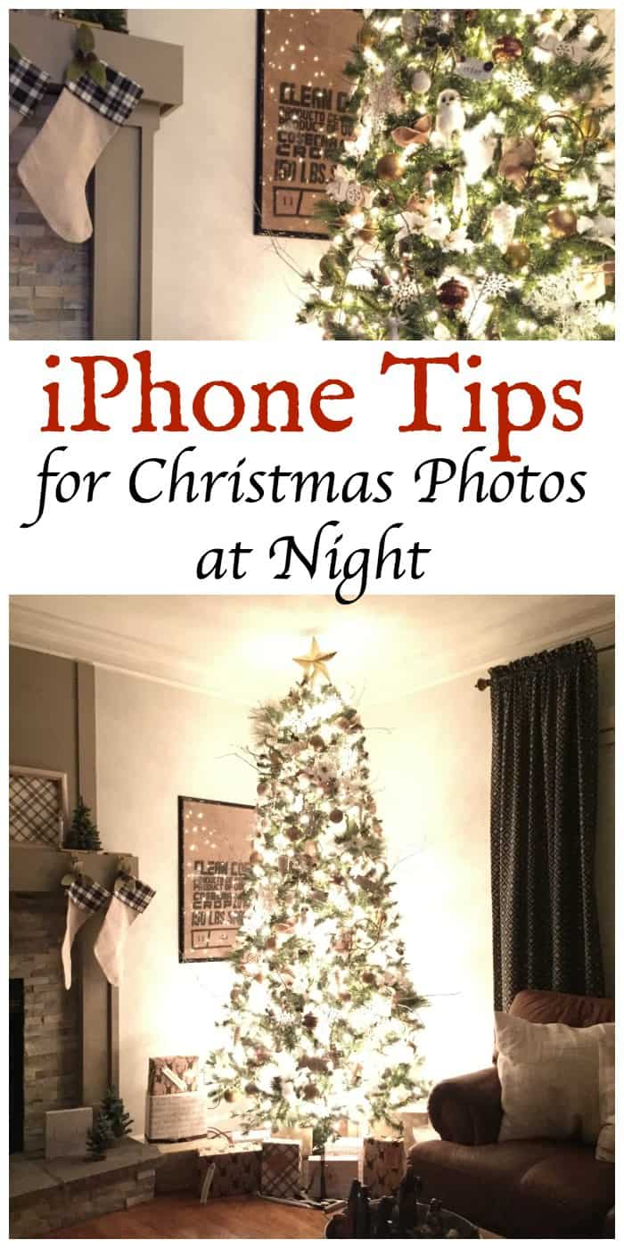 iPhone Tips for Christmas Photos at Night