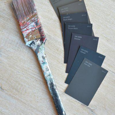 Best Black Paint Colors